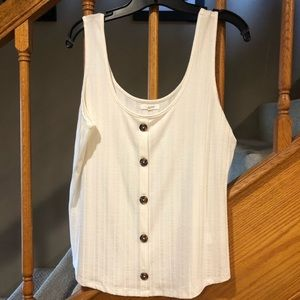 Maurices tank with button detail.